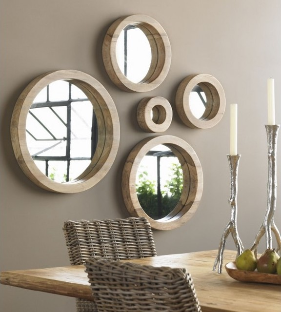 Porthole Mirror Collection By VivaTerra Tropical Wall