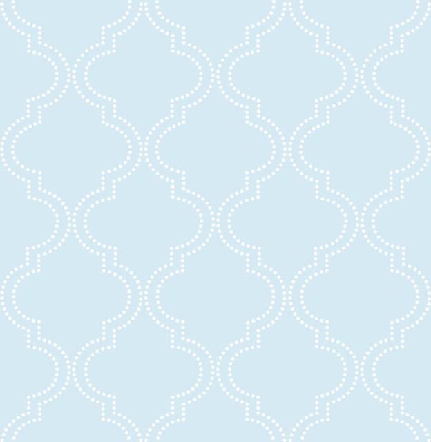 18 Captivating Mediterranean Bedroom Designs You Won T: Modern Quatrefoil Peel And Stick Wallpaper, Blue, 4 Rolls