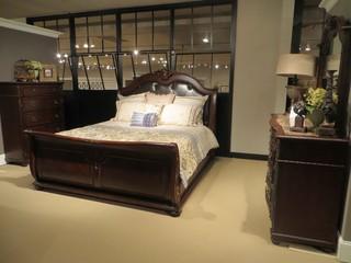 Homelegance 5 Pcs Hillcrest Manor Bedroom Set 2169 1 Traditional Bedroom Furniture Sets