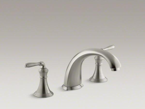 KOHLER Devonshire(R) deck-/rim-mount bath faucet trim for high-flow ...