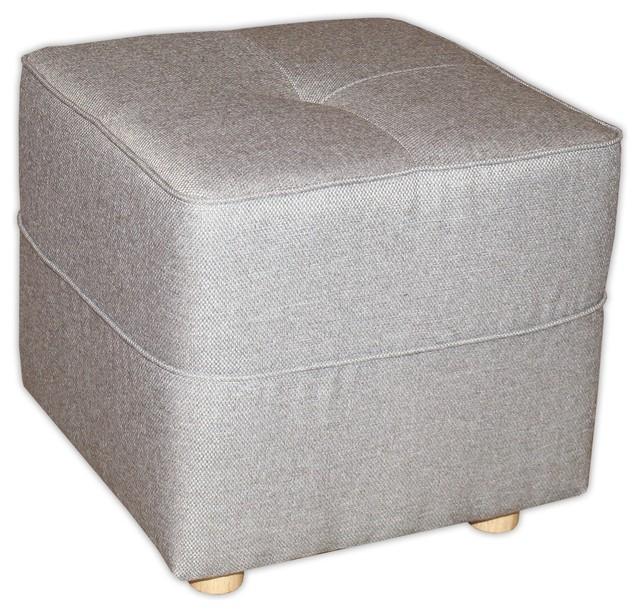 vicky canap pouf gris contemporain repose pieds pouf et cube par alin a mobilier d co. Black Bedroom Furniture Sets. Home Design Ideas