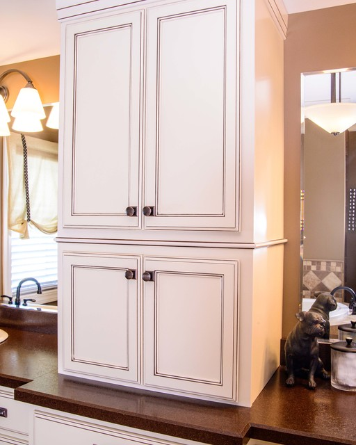 Kabinart Kitchen Cabinets: Timeless And Fresh Master Bathroom