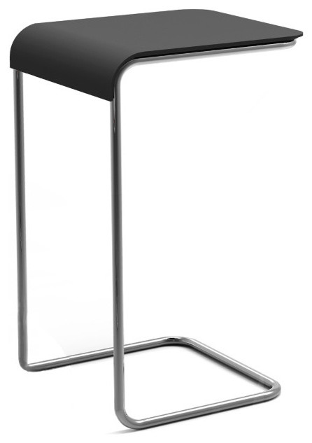 farallon side table beistelltisch anthrazit hoch danese milano modern side tables end. Black Bedroom Furniture Sets. Home Design Ideas