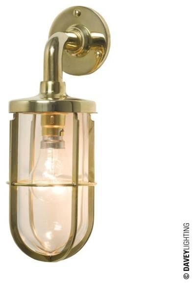 Davey 7207 Weatherproof Ship's Well Glass Light Polished