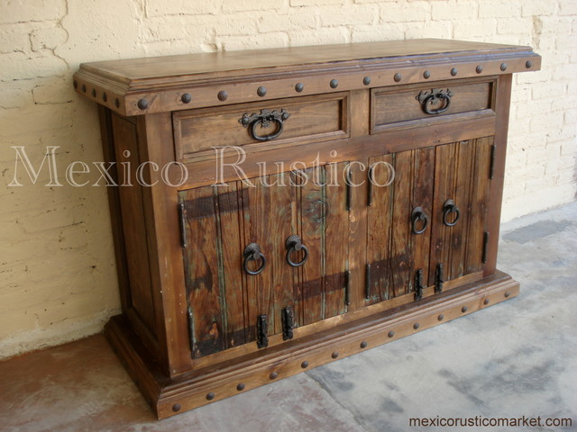 Buffet Old Wood Contemporary Furniture Houston By