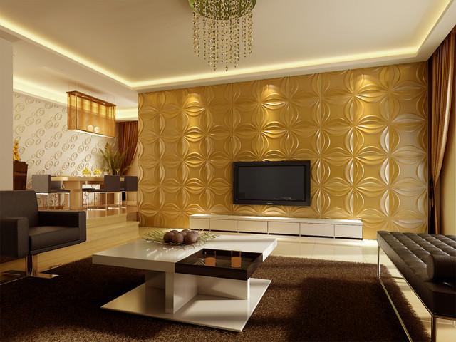 2013 3D wall decor art panels and wall paper - Modern ...