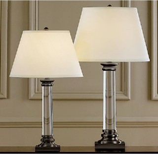 reading table lamps clear glass base modern table lamps raleigh. Black Bedroom Furniture Sets. Home Design Ideas