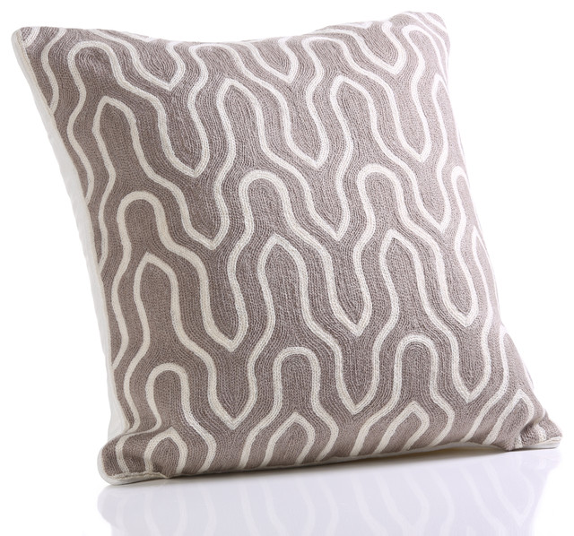 Traditional Throw Pillows : Lancet Throw Pillow, Cotton - Traditional - Decorative Pillows - by Zodax