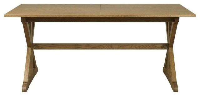 Mark webster easton oak dining table rectangular for Dining room tables easton