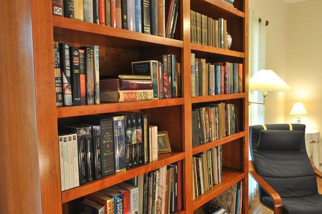 mid century modern bookcase midcentury furniture atlanta by turner custom furniture. Black Bedroom Furniture Sets. Home Design Ideas