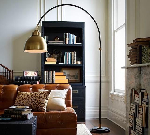 Winslow Arc Sectional Floor Lamp Contemporary Floor