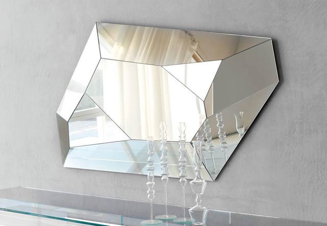Diamond Wall Mirror By Cattelan Italia Modern Makeup