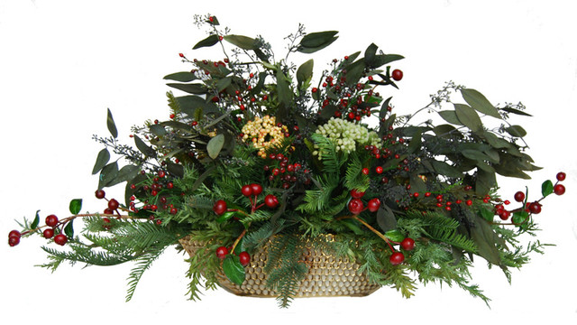 Similiar artificial holiday flower arrangements keywords christmas silk floral centerpiece contemporary mightylinksfo