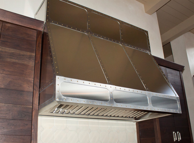 Metal elements contemporary range hoods and vents for Martin metal designs