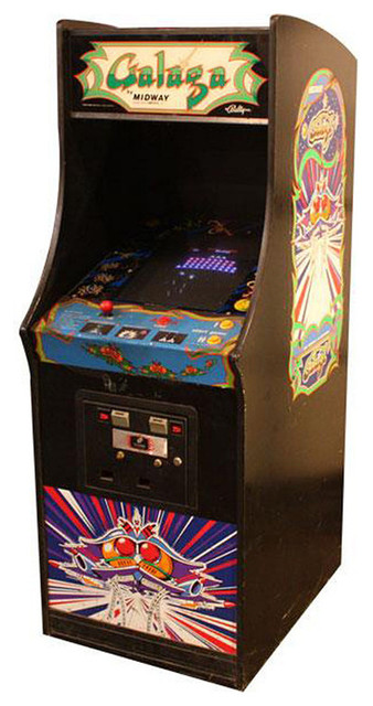 Refurbished Galaga Arcade Game traditional-game-tables
