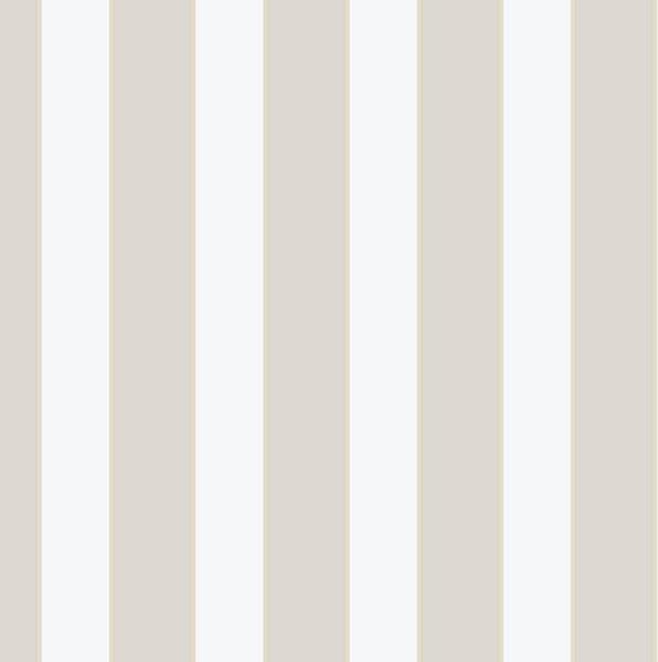 Beige and White Stripe - KE29922 - Traditional - Wallpaper - by Pebblestone Wallcoverings