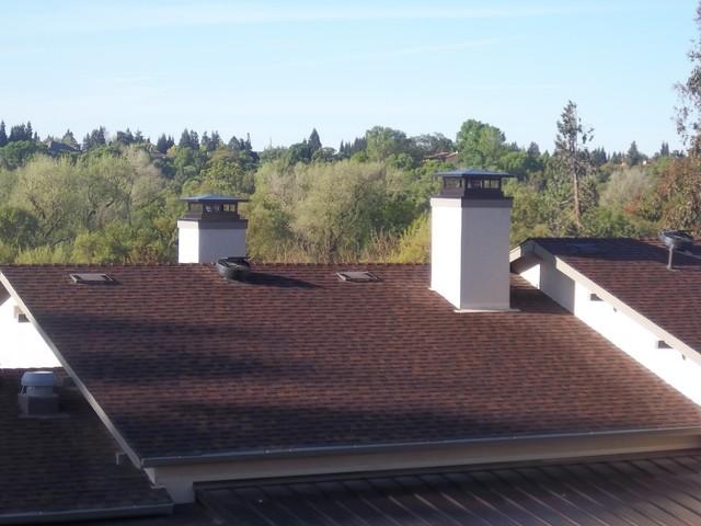 finished chimney caps white glove chimney amp duct redding ca us 96002