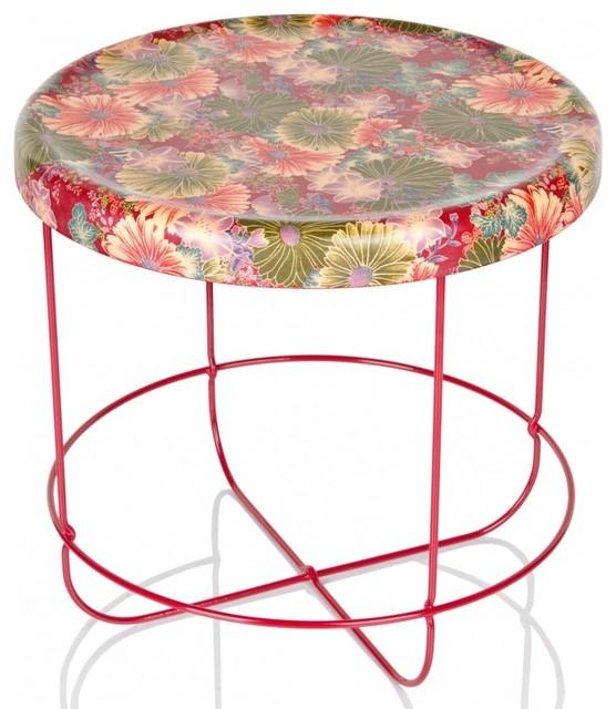 Ukiyo tisch rund modern side tables end tables by for Tisch rund modern