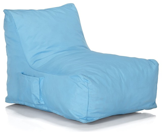 amalia fauteuil pouf bleu moderne repose pieds et pouf de jardin. Black Bedroom Furniture Sets. Home Design Ideas