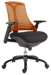 Office Chair In Orange Contemporary Office Chairs By Beyond