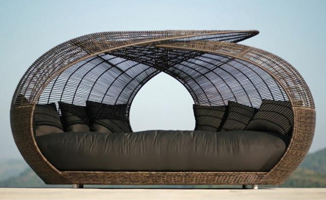 Spartan Open Top Lounge Contemporary Outdoor Sofas