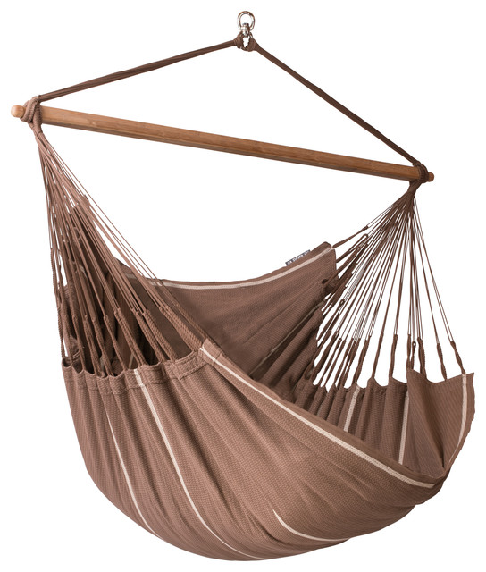 Hammock Chair Lounger Habana, Chocolate, Lounger contemporary-hammocks ...