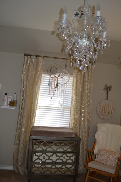 Beautiful Nursery - Transitional - Dallas - by Jolie Vue Interiors