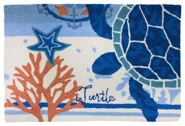 nautical rugs coastal area beach themed