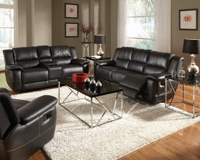 Coaster 3 Pieces Partridge Brown Casual Sofa Set Living Room Furniture Sets