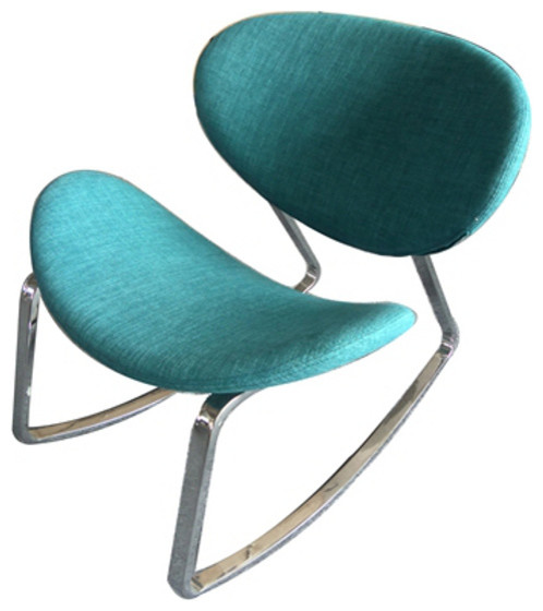 Sutton Rocking Chair, M2, Blue contemporary-rocking-chairs