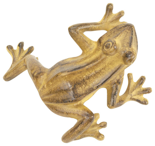 Jumping frog tawny modern decorative objects and for Modern decorative objects