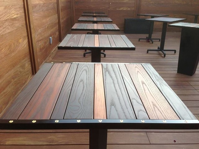 HOP PATIO PATIO TABLE TOP Industrial Table Tops And Bases Toronto