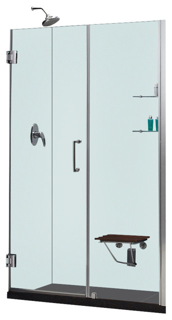 Dreamline Shower Door With 30 Quot Stationary Panel And