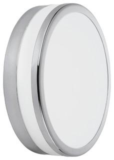 palermo plafonnier de salle de bain 1 lumi re blanc contemporain plafonnier encastrable. Black Bedroom Furniture Sets. Home Design Ideas