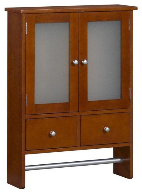 Home Decorators Collection Cabinets Amanda 24 in. W Wall Cabinet with Towel Bar contemporary ...