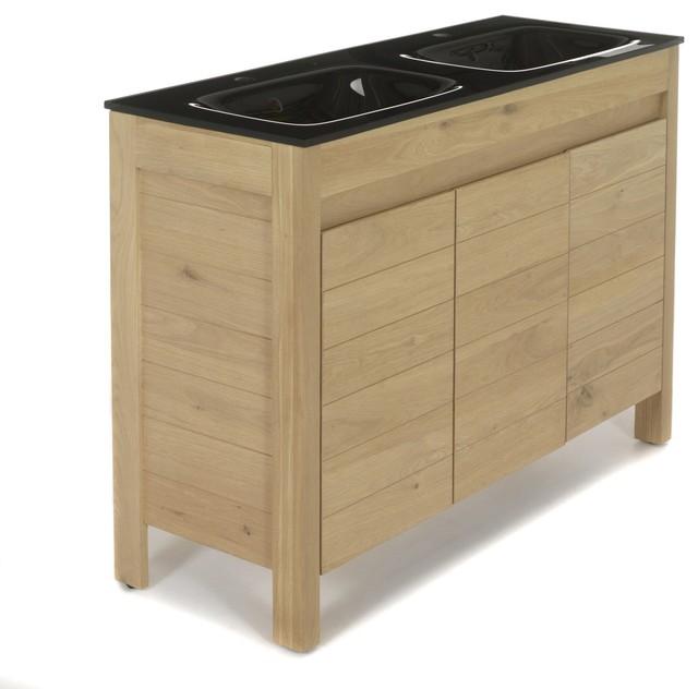meuble lavabo contemporain id es de conception sont int ressants votre d cor. Black Bedroom Furniture Sets. Home Design Ideas