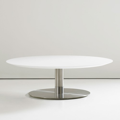 Quiet 36 inch round cocktail table modern coffee for Coffee tables 36 inches