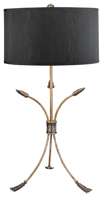 Flambeau Archer Table Lamp Contemporary Table Lamps