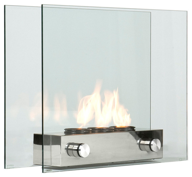 loft portable gel fireplace contemporary outdoor