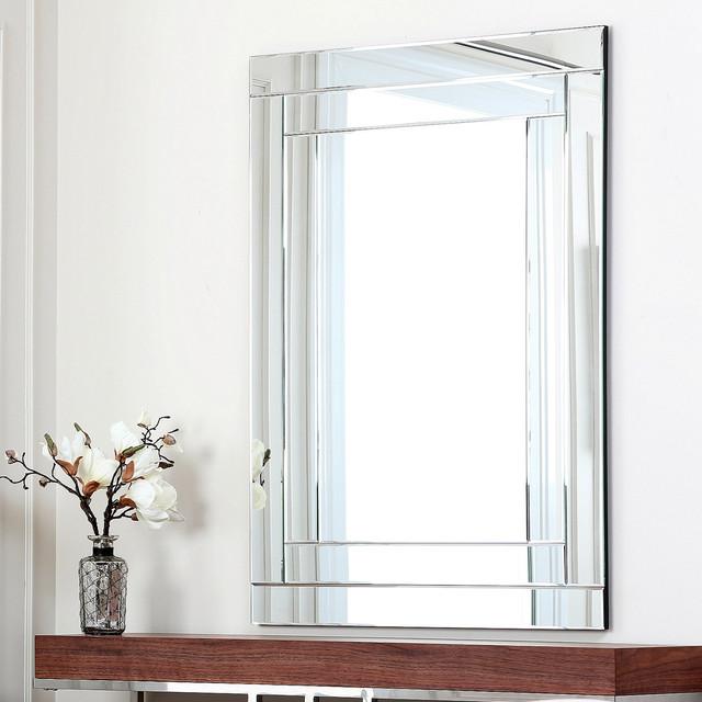 Overstock Mirrors: ABBYSON LIVING Fairmont Rectangle Wall Mirror