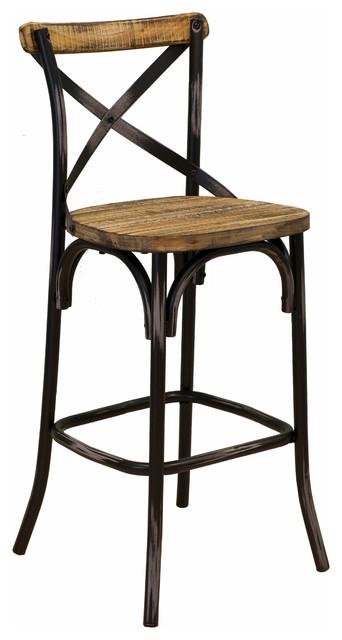 Barkley Reclaimed Wood Counter Stool Rustic Bar Stools  : rustic bar stools and kitchen stools from www.houzz.co.uk size 342 x 640 jpeg 42kB