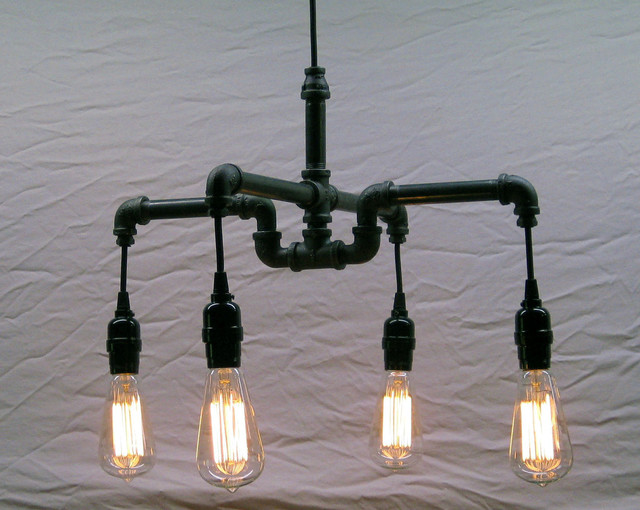 pipe chandelier industrial chandeliers montreal by