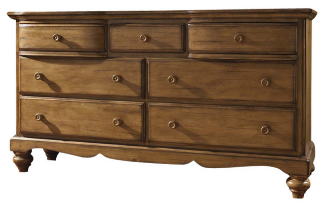 Hamptons Dresser In Weathered Pine Furniture By Bedroom Furniture