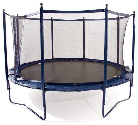 jumpsport elite trampoline safety system contemporary. Black Bedroom Furniture Sets. Home Design Ideas