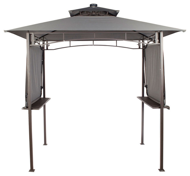 Finlay Amp Smith Soft Top Bbq Gazebo With Lights
