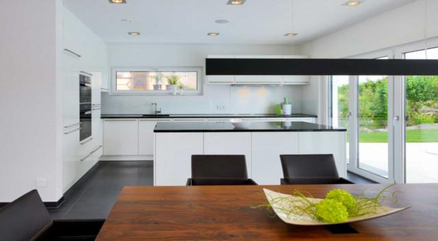 offene k che zum esszimmer raum und m beldesign inspiration. Black Bedroom Furniture Sets. Home Design Ideas
