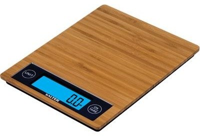Salter Bamboo Kitchen Scale Modern Kitchen Scales By BuilderDepot Inc