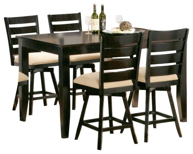 rectangular counter height table 1