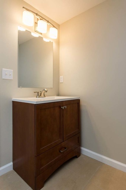 Creative Kate Builds A Midcentury Modern Bathroom Vanity  Total Cost 58309