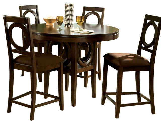standard furniture coterno 5 piece counter height dining room set gallery